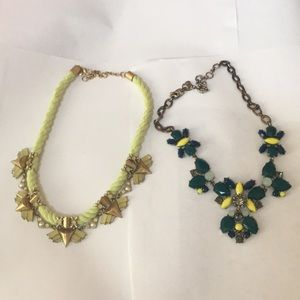 Jcrew Green Necklace Bundle